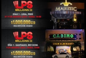 LPS Millions II Tournament Packages ($1 Million guaranteed) Still Available