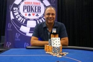 Mohammad Moeini is the winner of WSOPC Biloxi Main Event