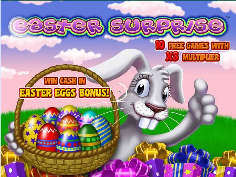Play Easter Surprise Slots Online at Casino.com NZ