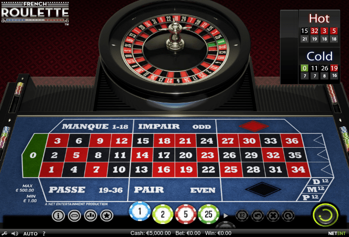 french roulette netent casino