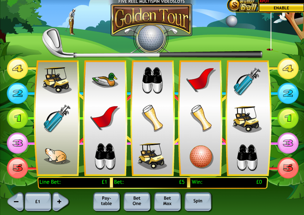 Play Golden Tour Slots Online at Casino.com NZ