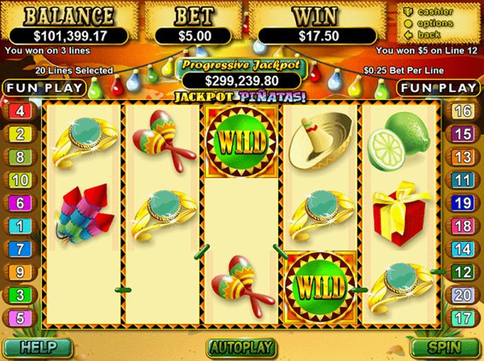 jackpot-pinatas-slot-machine-wild-symbols