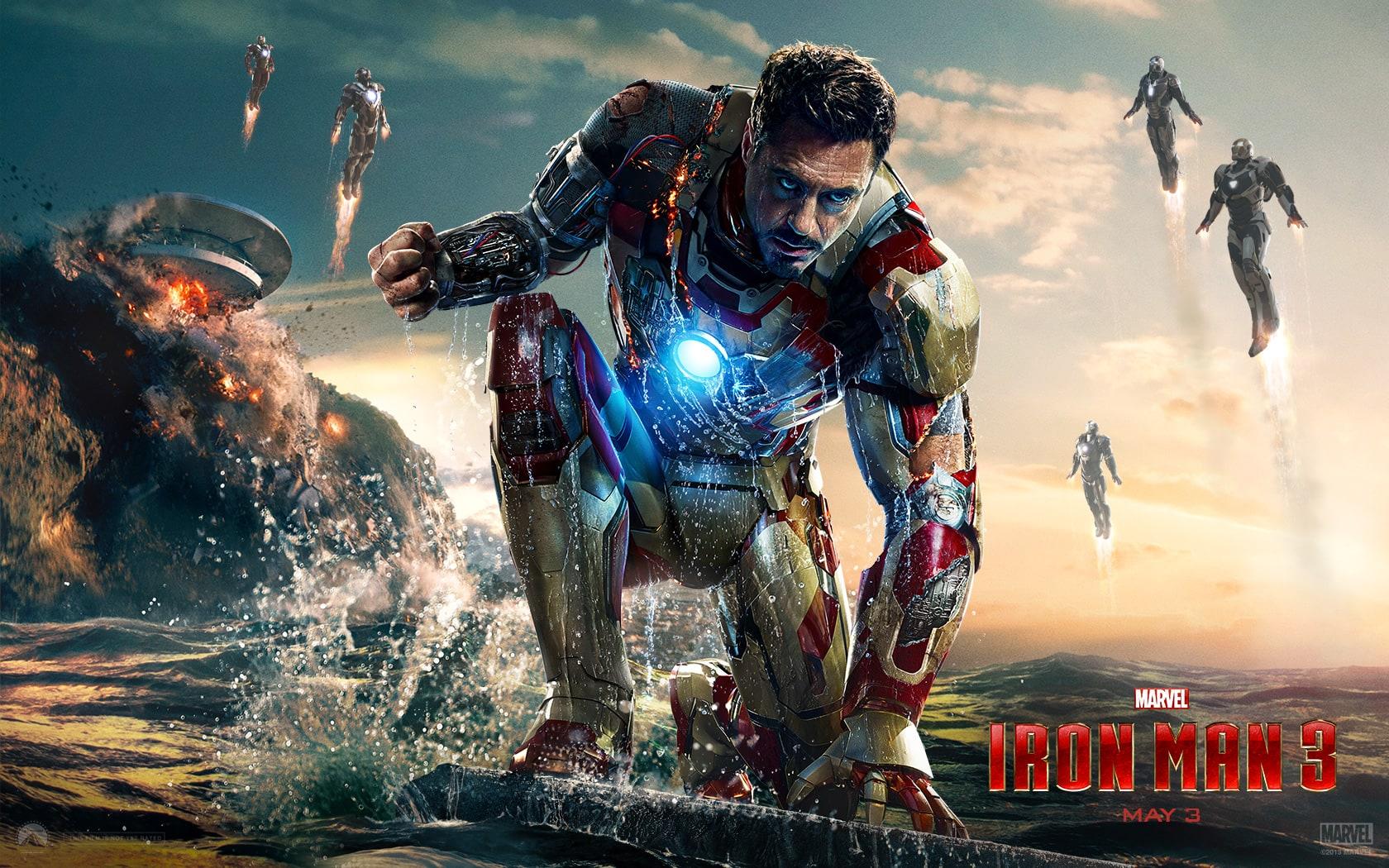 تحميل فيلم Iron man 3  الجزء الثالت كامل مترجم بجودة BluRay أعلى جودة