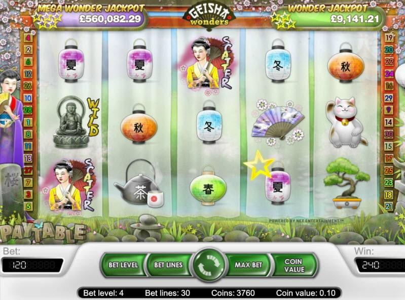 geisha-wonders-slot-gameplay