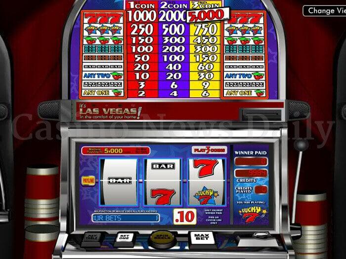Lucky 7 Slot betsoft