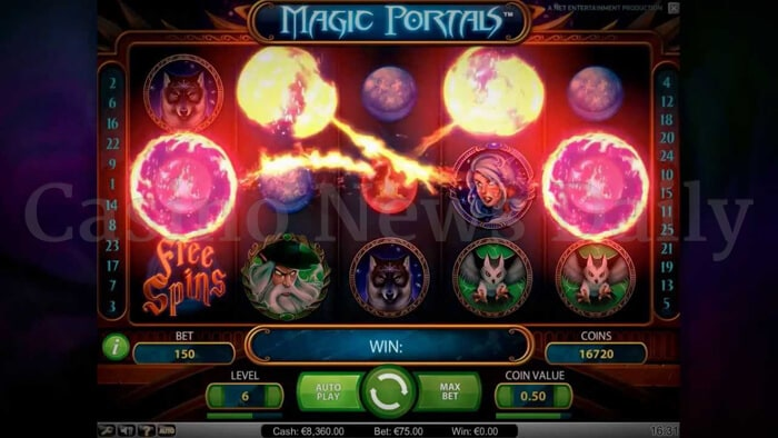 1-Magic Portals Slot