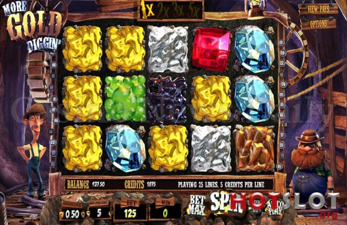 Gold Miners Slot - Free Online MrSlotty Slots Game