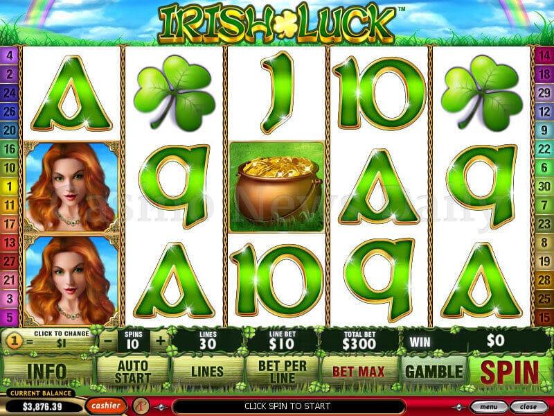 Luck O' The Irish Slot playtech