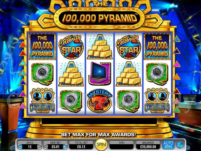 Pyramids of Egypt Slot Machine - Try Playing Online for Free