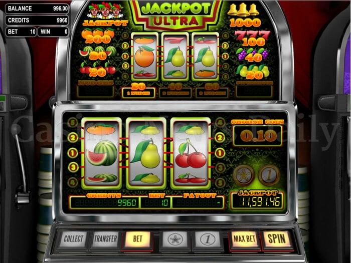 Jackpot ultra slot betsoft