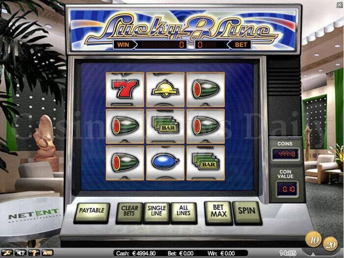 Lucky 8 Line Slot netent