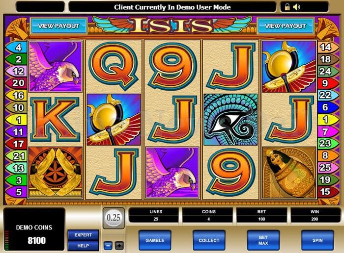 Pharaoh's Fortune Slot microgaming