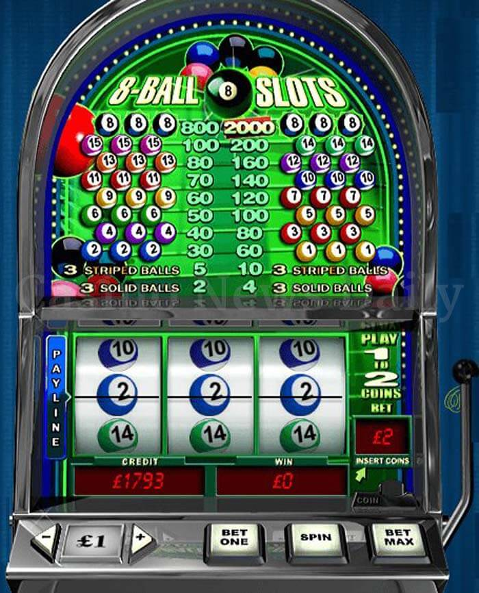 8-Ball Slot playtech