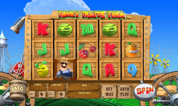 8-Funky Fruits Farm Slot
