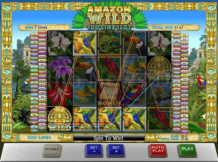 Amazon Wild Slot Machine Online ᐈ Playtech™ Casino Slots