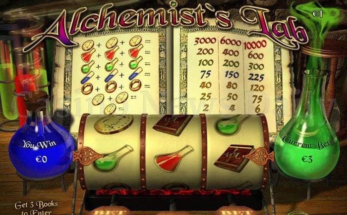 Alchemist's Lab Slot playtech