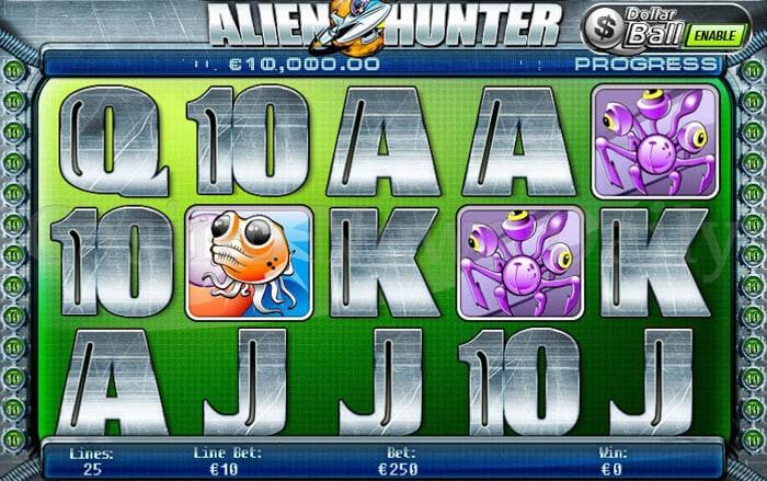 Alien Hunter Slot playtech