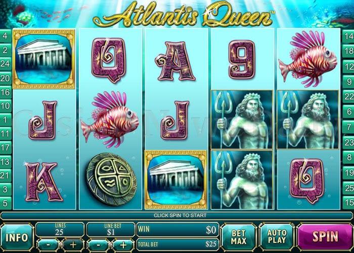 Atlantis Queen Slot playtech