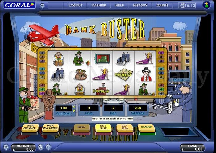Bank Buster Slot igt