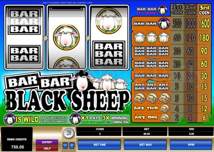 Bar Bar Black Sheep Online Slot