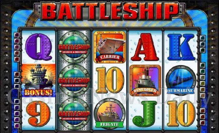 Battleship: Search & Destroy Online Slot