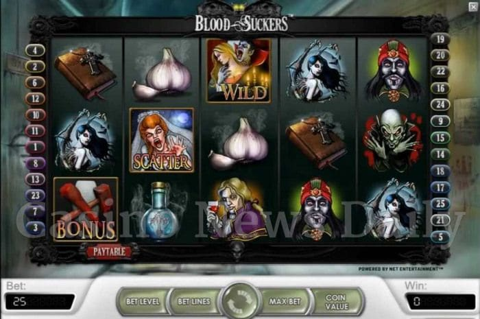 Blood Suckers Online Slot