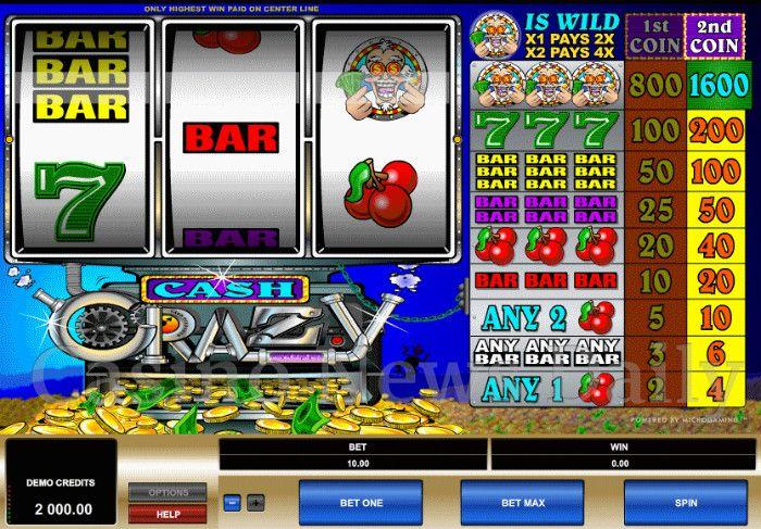 Cash Crazy Online Slot