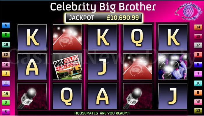 Celebrity Big Brother Online Slot playtech