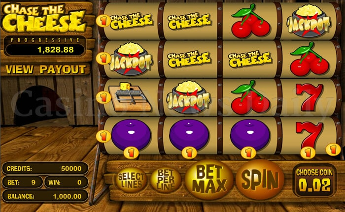 Chase the Cheese Slot betsoft