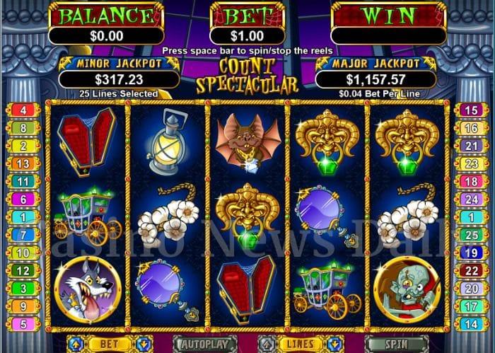 Count Spectacular Online Slot