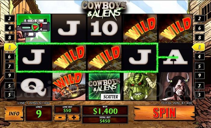 Cowboys-&-Aliens-Slot