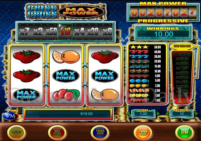Criss Cross Max Power Online Slot