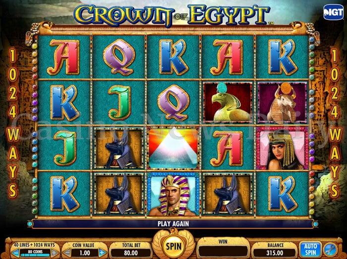 Crown of Egypt Slot igt