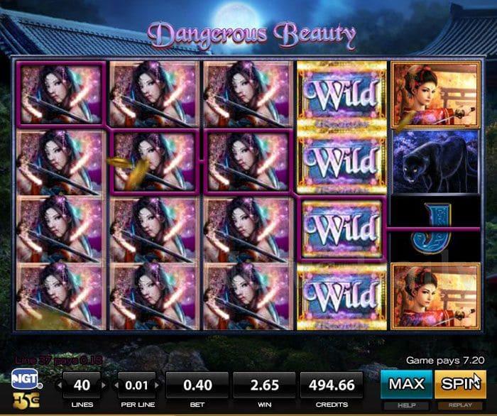 Dangerous-Beauty-Slot