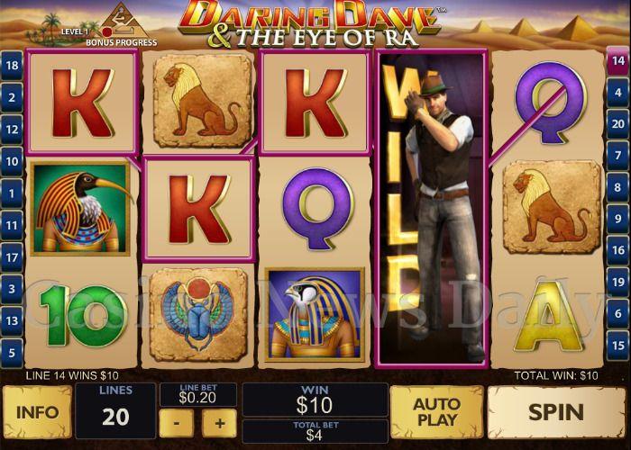 Daring Dave & the Eye of Ra Online Slot