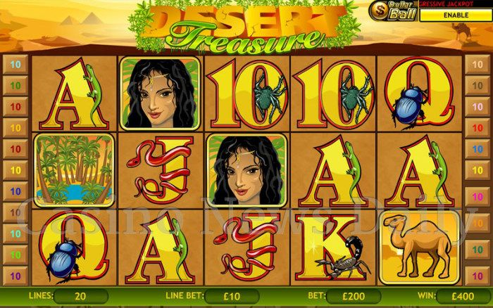 Desert Treasure Online Slot