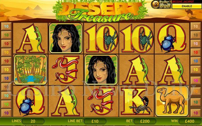 Desert Treasure Online Slot