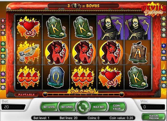Devil's Delight Online Slot