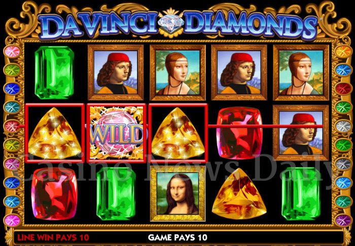 Double DaVinci Diamonds Online Slot