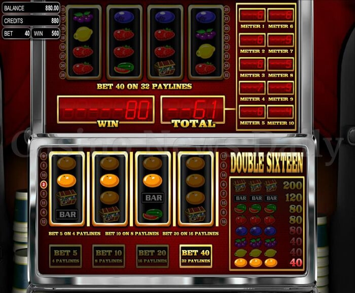 Double Sixteen Slot betsoft