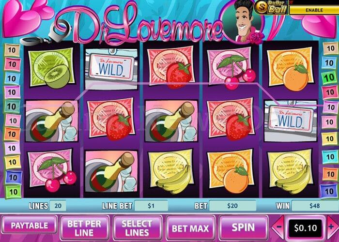 Dr Lovemore Slot playtech