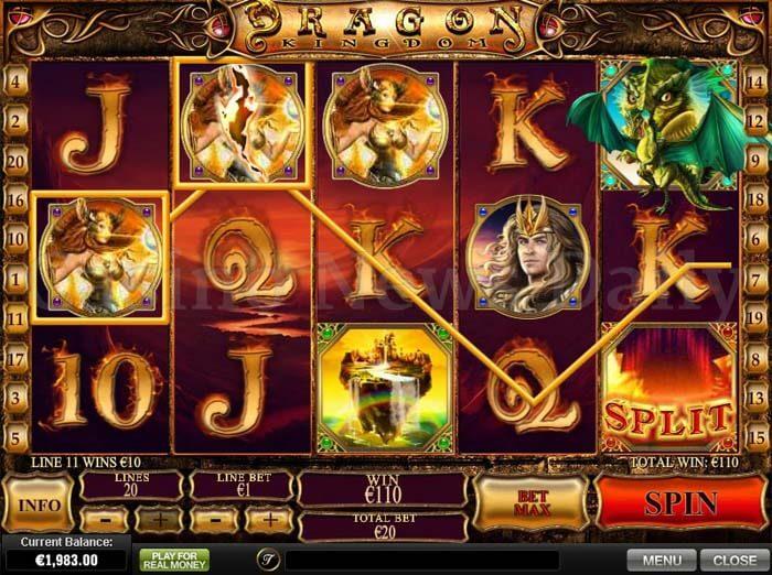Dragon Kingdom Slot playtech