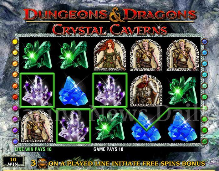 Dungeons & Dragons: Crystal Caverns Online Slot