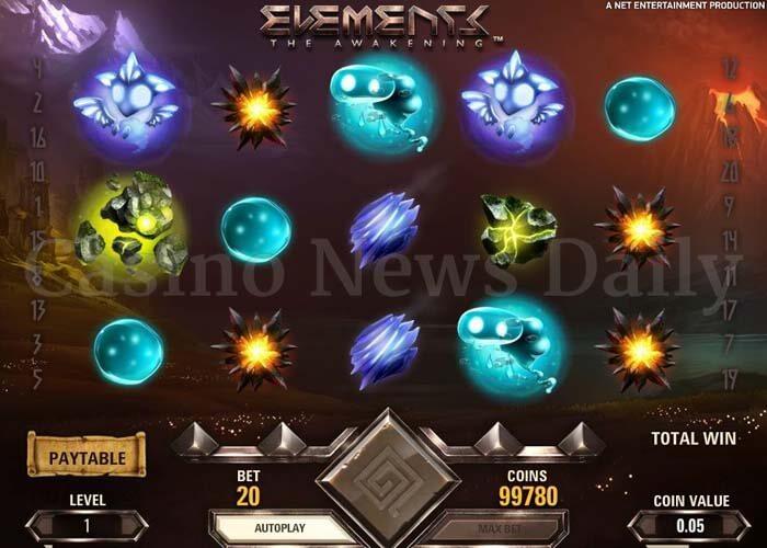 Elements: The Awakening Online Slot