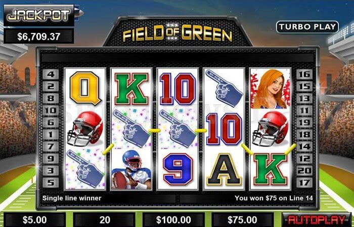 Field of Green Slot rtg