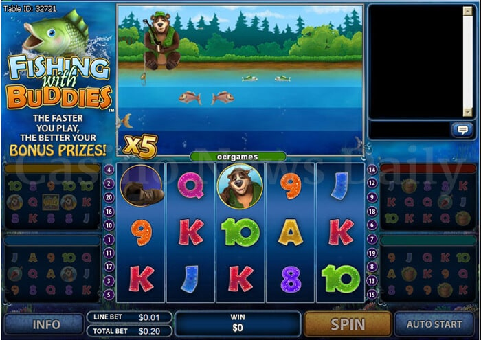 Fishing With Buddies Online Slot