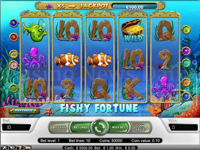 Fishy Fortune Online Slot