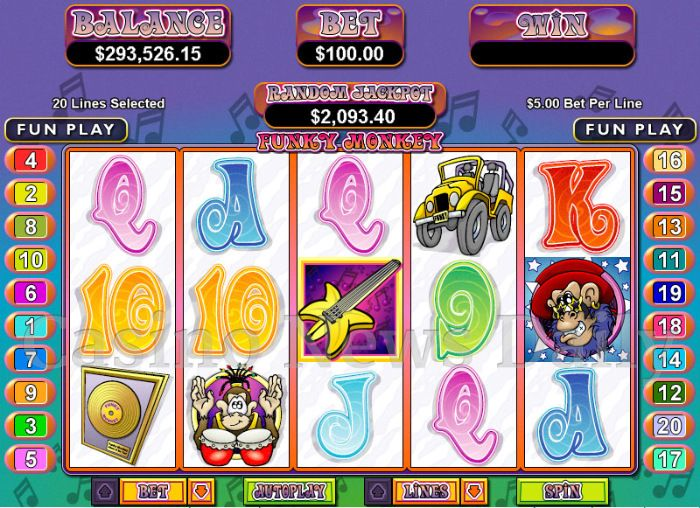 Funky Monkey Online Slot