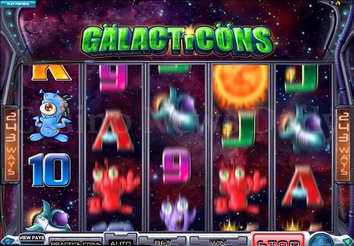 Galacticons Slot  microgaming