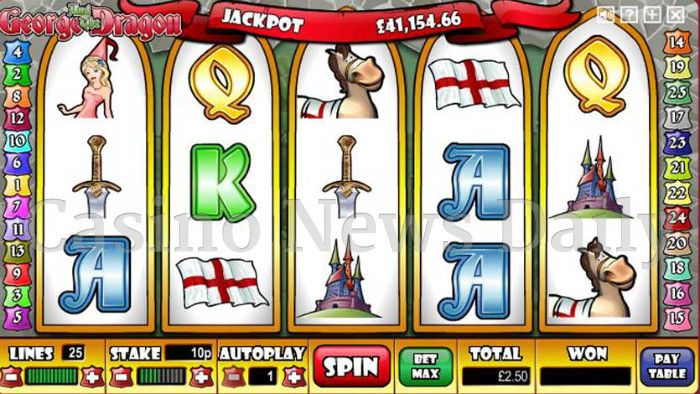 George and the Dragon Online Slot